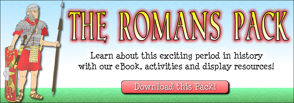 The Romans Pack - Learn about this exciting period in history with our eBook, activities and display resources.