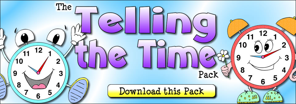 The Telling the TIme Pack - Download this Pack