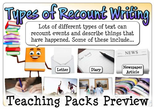 a personal recount on writing skills Want to write better content learn how to improve your writing skills by practicing each of these 27 mini-skills for writers.
