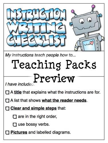 how to write instructional essay