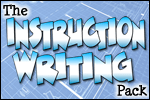 Two New Resource Packs – Science Vocabulary and Instruction Writing!