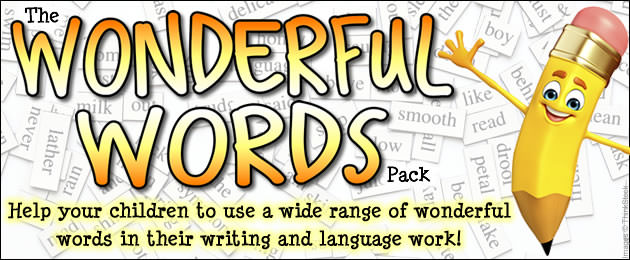 the wonderful words pack