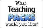 Win a Teaching Packs Membership and tell us what resources you want us to make!
