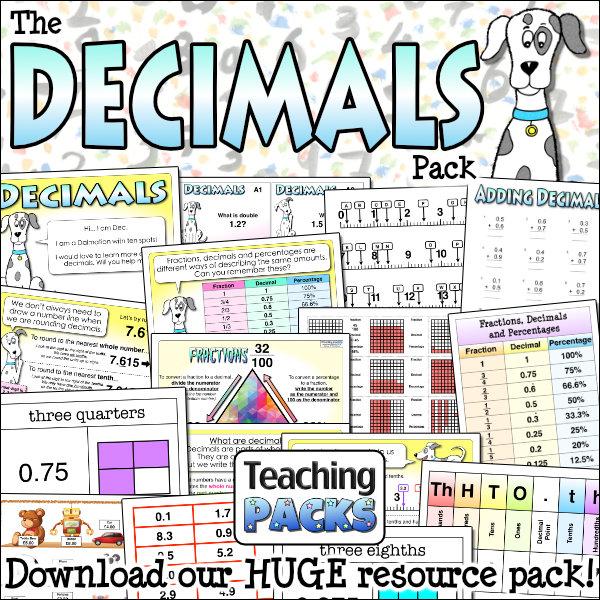 The Decimals Pack
