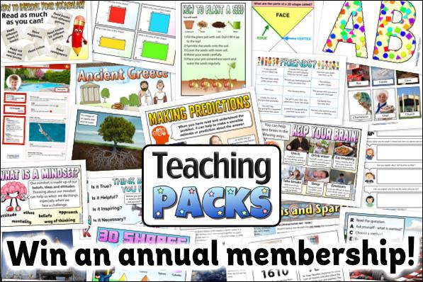 Win a Teaching Packs Membership!