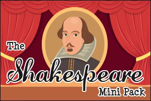 The Shakespeare Mini Pack