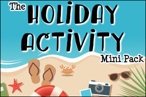 The Holiday Activity Mini Pack