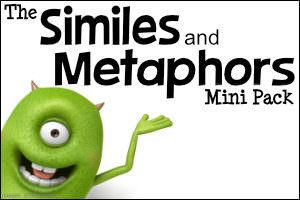 The Similes and Metaphors Mini Pack