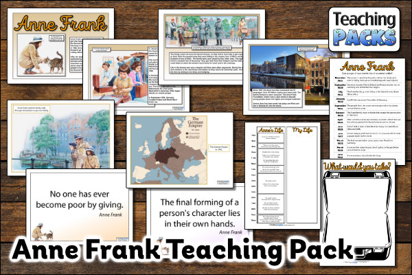 The Anne Frank Pack
