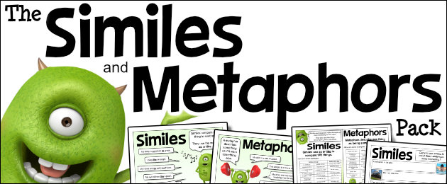The Similes and Metaphors Pack