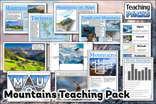 The Mountains Pack