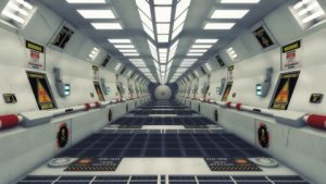 Deserted Spaceship
