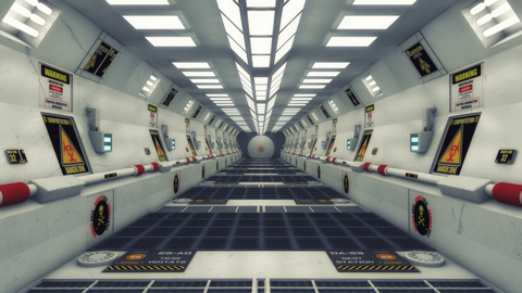 Deserted Spaceship