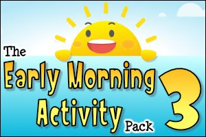 The Early Morning Activity Pack 3