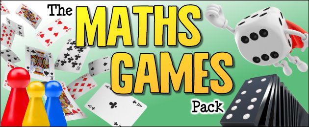 The Maths Games Pack