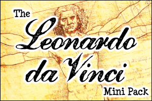 The Leonardo da Vinci Mini Pack