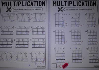 The Multiplication Pack (sent by Karen)