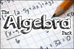 The Algebra Pack