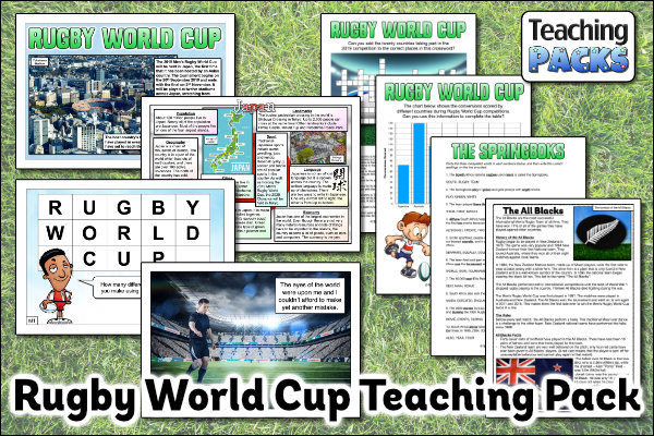 Rugby World Cup Teaching Pack