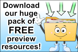 Download our huge pack of FREE preview resources!