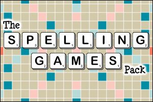 The Spelling Games Pack