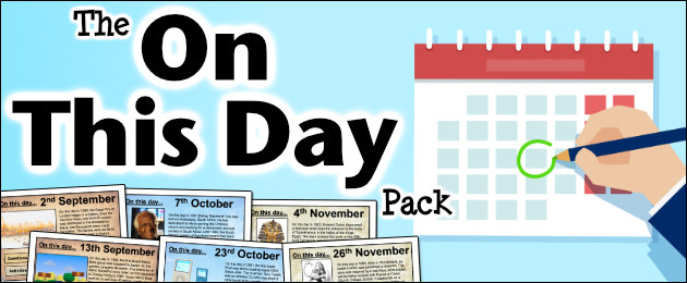 The 'On This Day' Pack
