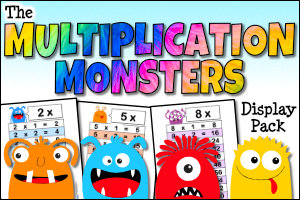 The Monster Multiplication Pack