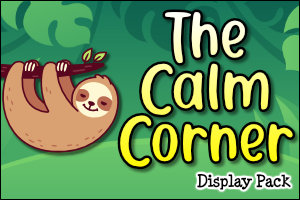 The Calm Corner Display Pack