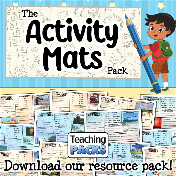The Activity Mats Pack