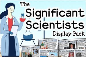The Significant Scientists Display Pack