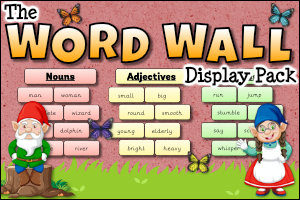 The Word Wall Display Pack